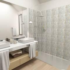Bathroom Suite: Casas de banho  por No Place Like Home ®