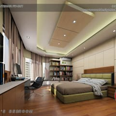 3-Bedroom Interior Design:  Bedroom by Garra + Punzal Architects