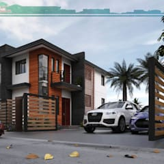 2-Storey Residence Modern home by Garra + Punzal Architects Modern