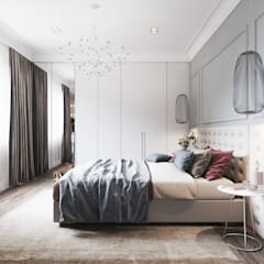 Bedroom by Tobi Architects