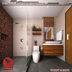 3 Bedroom Interior Design: Modern Bathroom By Garra + Punzal Architects