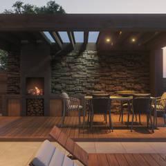 خانه ها by Tobi Architects