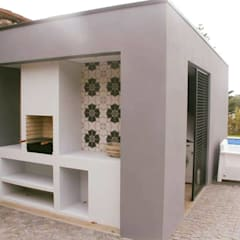 Casetas de jardín de estilo  por ® PERFIL┳ Arquitectura