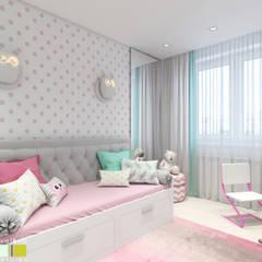 Habitaciones infantiles de estilo  por Мастерская интерьера Юлии Шевелевой