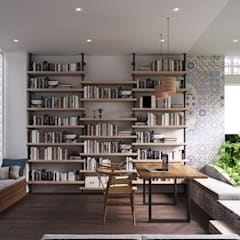 Arbeitszimmer von P.A.U Design