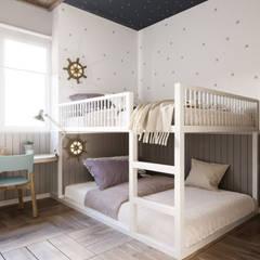 moderne Kinderzimmer von P.A.U Design