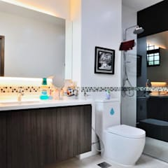 Terrace @ Saraca Place: modern Bathroom by AgcDesign