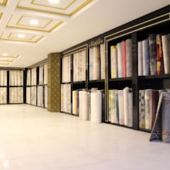 Lia Mimarlık İçmimarlık – Halıcı Faruk:  tarz Ofisler ve Mağazalar