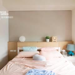 台中 陳公館:  嬰兒房/兒童房 by 築本國際設計有限公司