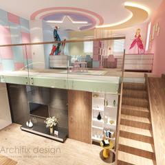 Cải tạo căn hộ Duplex -Lam Sơn - Tân Bình:  Nhà gia đình by Công Ty TNHH Archifix Design,