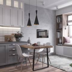 Armários de cozinha  por Anastasya Avvakumova
