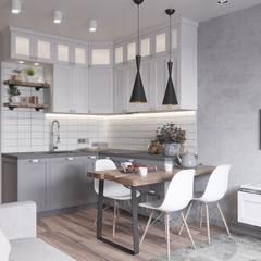 Muebles de cocinas de estilo  por Anastasya Avvakumova
