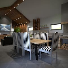 Projecto 3D: Salas de estar  por BENEDITO MARTINS