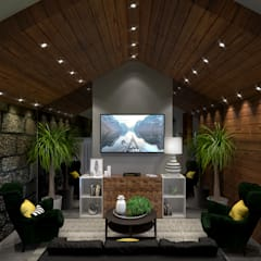 Living room by BENEDITO MARTINS