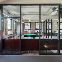 Interieurontwerp advocatenkantoor Rotterdam:  Bars & clubs door Yben Interieur en Projectdesign