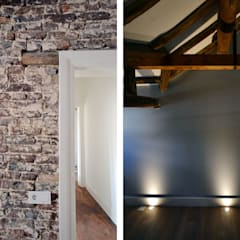 Renovatie monumentale hoeve:  Slaapkamer door ARCHiD