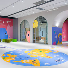 ShangHai DoDo:  Nursery/kid's room by Taipei Base Design Center