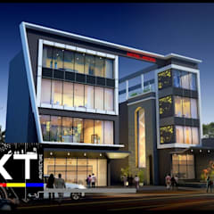 Commercial Spaces by Architect Kaushal Thakur Group