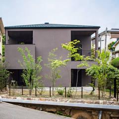 Casas de madera de estilo  por 高橋功治アトリエ