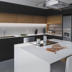 cocina casa vega : Cocinas de estilo  por Adrede Diseño