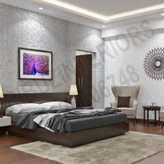 Schlafzimmer von Tribuz Interiors Pvt. Ltd.