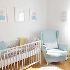 Nursery/kid's room by maria inês home style, Mediterranean