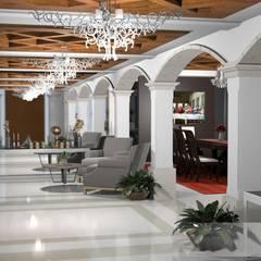 Vestíbulo de acceso: Pasillos y recibidores de estilo  por gciEntorno