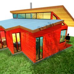 VIVIENDA LOS TELMOS: Casas de estilo  por artefacto arquitectura