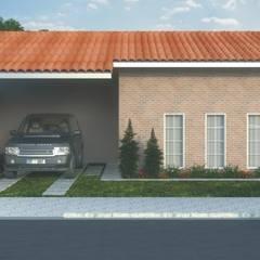 Residências Populares: Casas familiares  por D'Ateliê