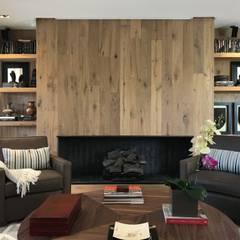 casa de campo Salas de estilo ecléctico de Ecologik Ecléctico Madera Acabado en madera