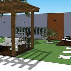 Jardines zen de estilo  por ITOARQUITETURA