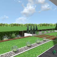 Projekt ogrodu nowoczesnego: styl , w kategorii Ogród zaprojektowany przez Design We Are 3D,