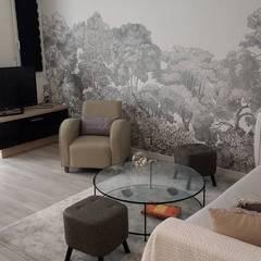 Architecture et décoration d'intérieur: Salon de style  par Vanessa Avel créatrice d'intérieurs, Asiatique