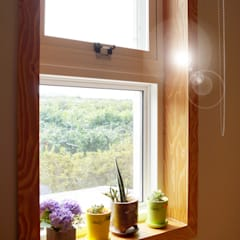 Wooden windows by W-HOUSE