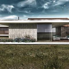 Projecto de Reabilitação e Ampliação : Casas  por Daniel Antunes
