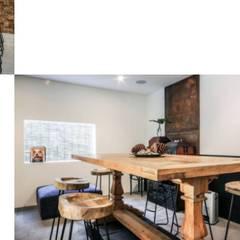 Weekend home:  Dining room by workroom