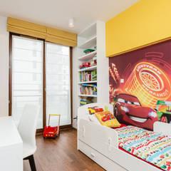 Mieszkanie na warszawskim Zolibożu: styl , w kategorii Pokój dla chłopca zaprojektowany przez Modify- Architektura Wnętrz