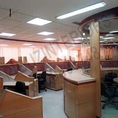 NIAC:  Office buildings by Tribuz Interiors Pvt. Ltd.,