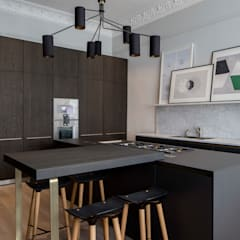 Bespoke bulthaup in north west London apartment Modern kitchen by Kitchen Architecture Modern