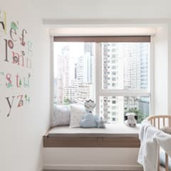 Nursery/kid's room by Clifton Leung Design Workshop