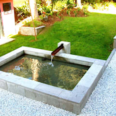 Garden Pond by Jardineros de interior