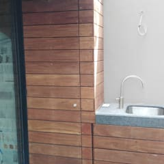 Maisons modernes par Onice Pisos y Decoracion Moderne Bois composite