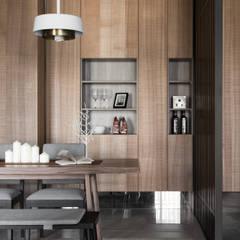 [HOME] Tenten Interiors - 心沐和居: KD Panels의  다이닝 룸