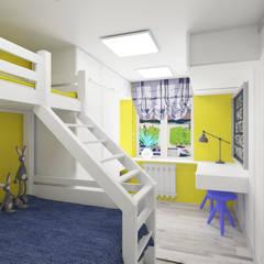 ห้องนอนเด็ก โดย lux.Plus,