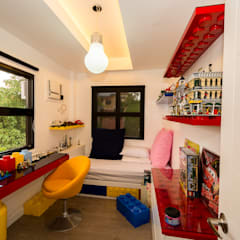 Tagaytay Southridge Estates:  Nursery/kid's room by TG Designing Corner