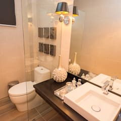 Tagaytay Southridge Estates:  Bathroom by TG Designing Corner