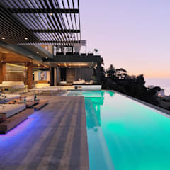 House Kloof Bantry Bay, Cape Town: Infinity Pool By KMMA