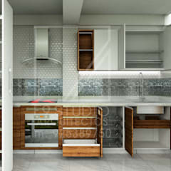 Kitchen units by F9.studio Arquitectos
