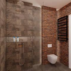 70 m² w Imielinie: styl , w kategorii Łazienka zaprojektowany przez Piec Piąty