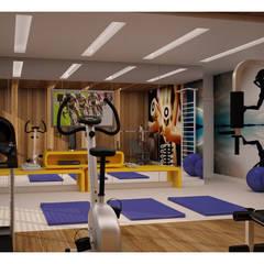 Vale das Águas Residence: Fitness  por SZ ARQUITETURA